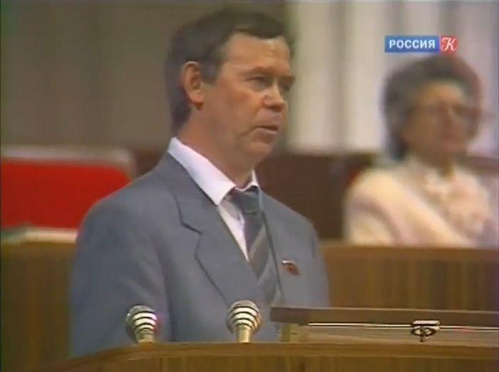 Выступление В.Г.Распутина на I Съезде Советов СССР.